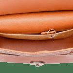 The classic saddle bag London tan