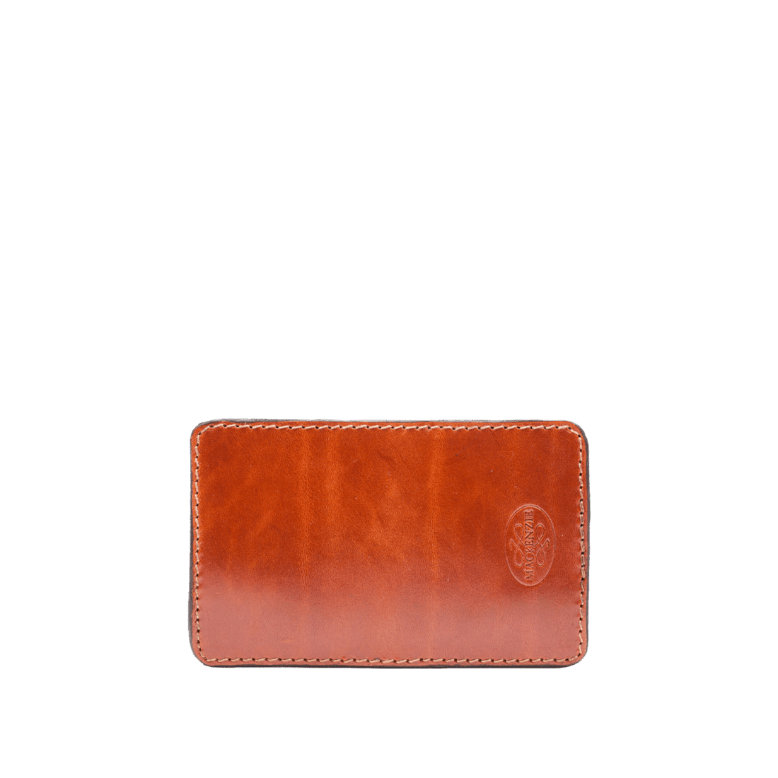 Card holder shiny tan