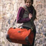 The Gladstone canvas & leather russet