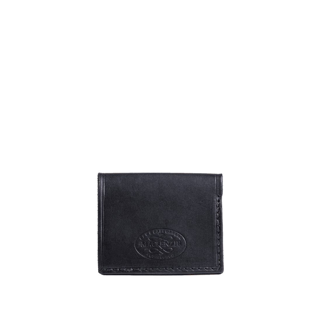The deluxe card holder shiny black