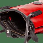 The Tote bag matt red