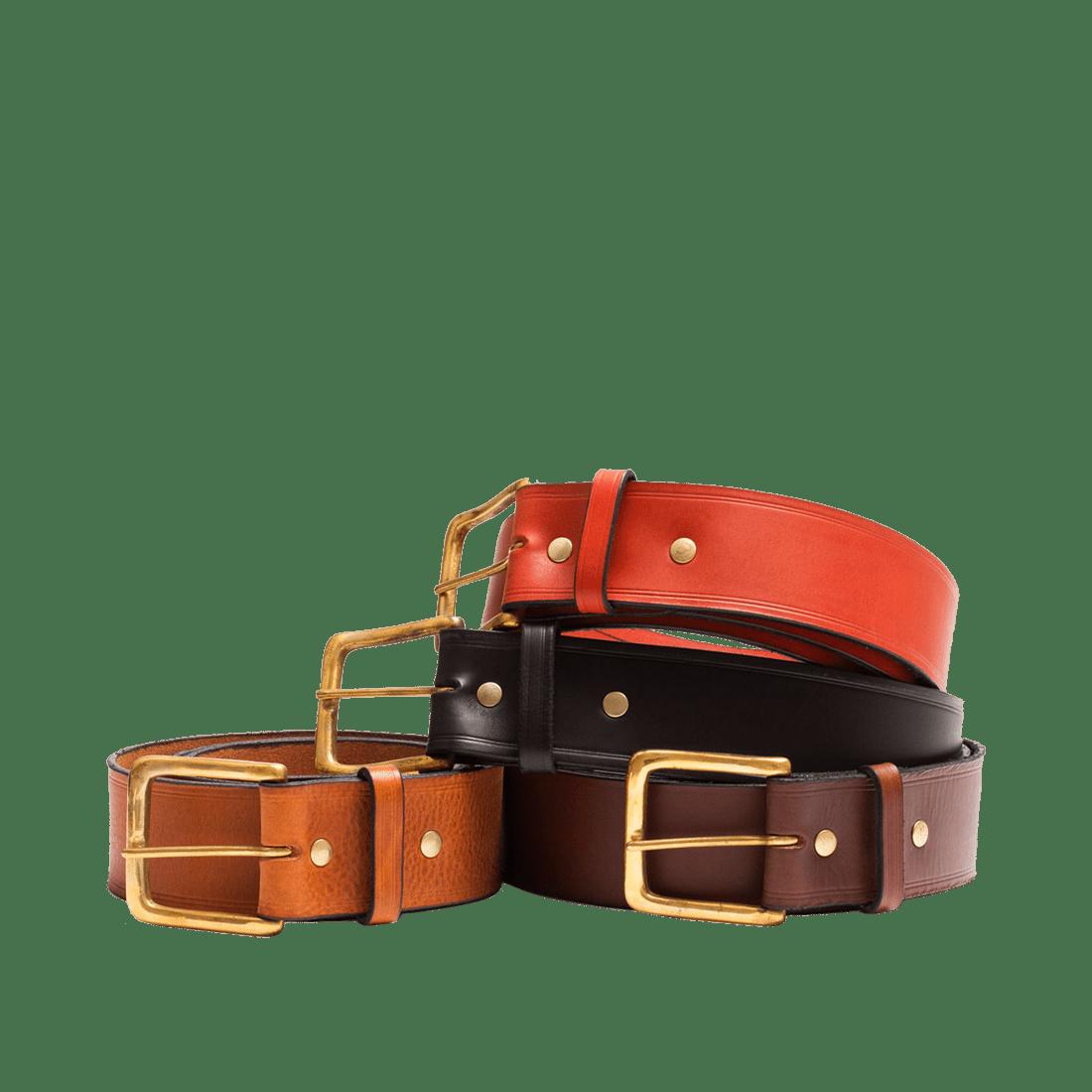 Leather Belts | Genuine Italian Leather for Men & Women