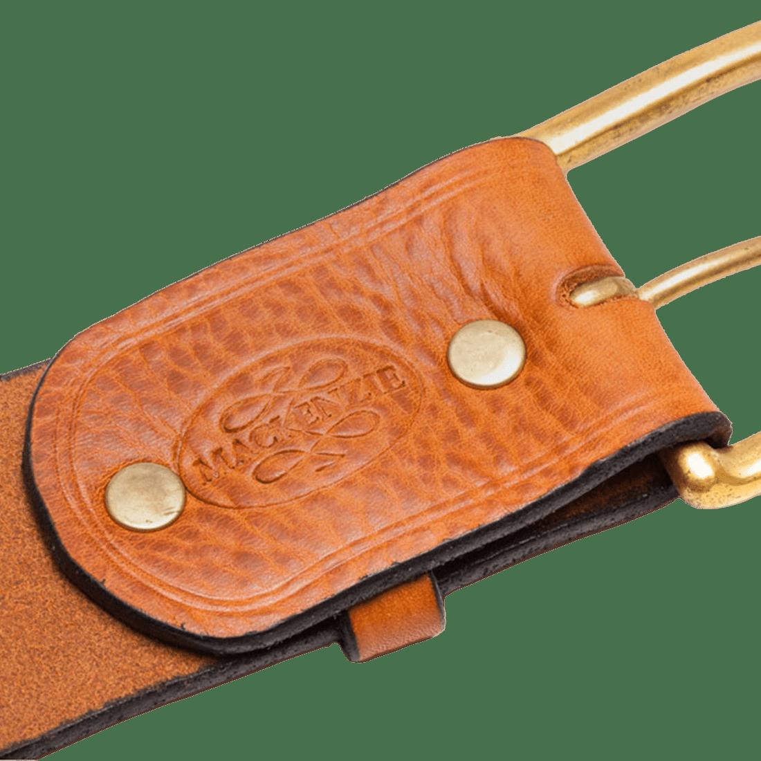 The West end belt antique tan