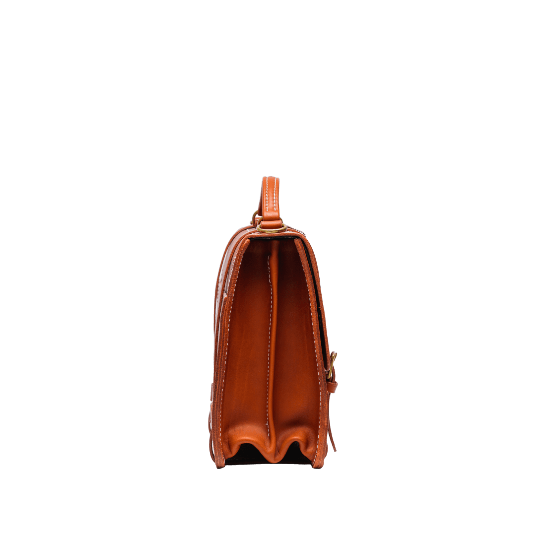 The Officers Briefcase London Tan