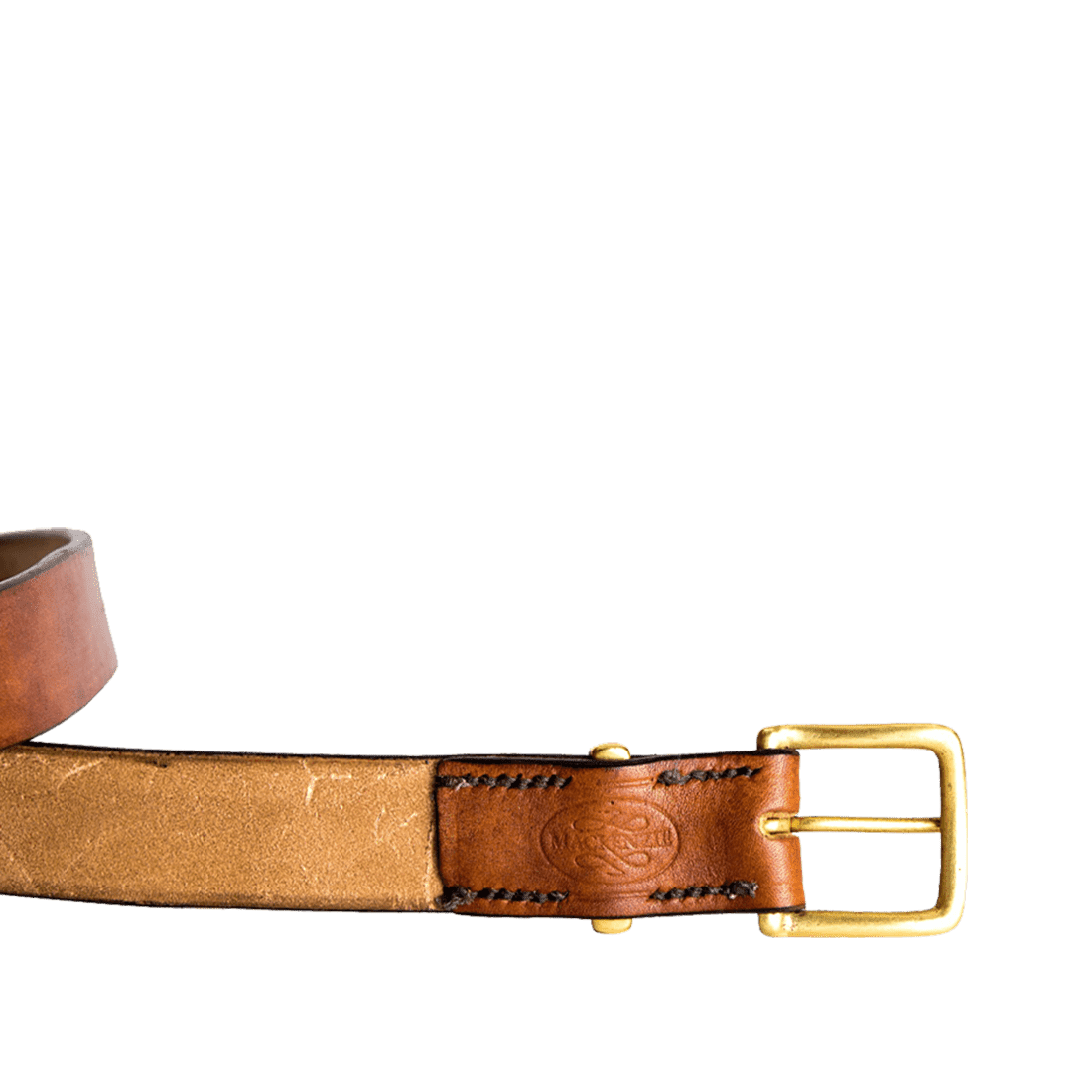 Oak bark bridle brown