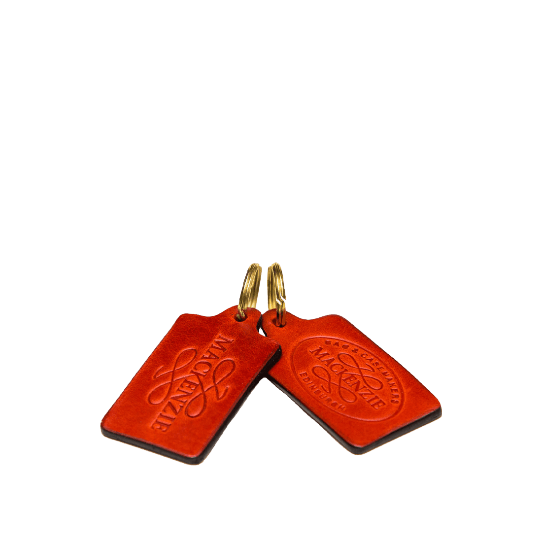 Italian Saddle Hide Red