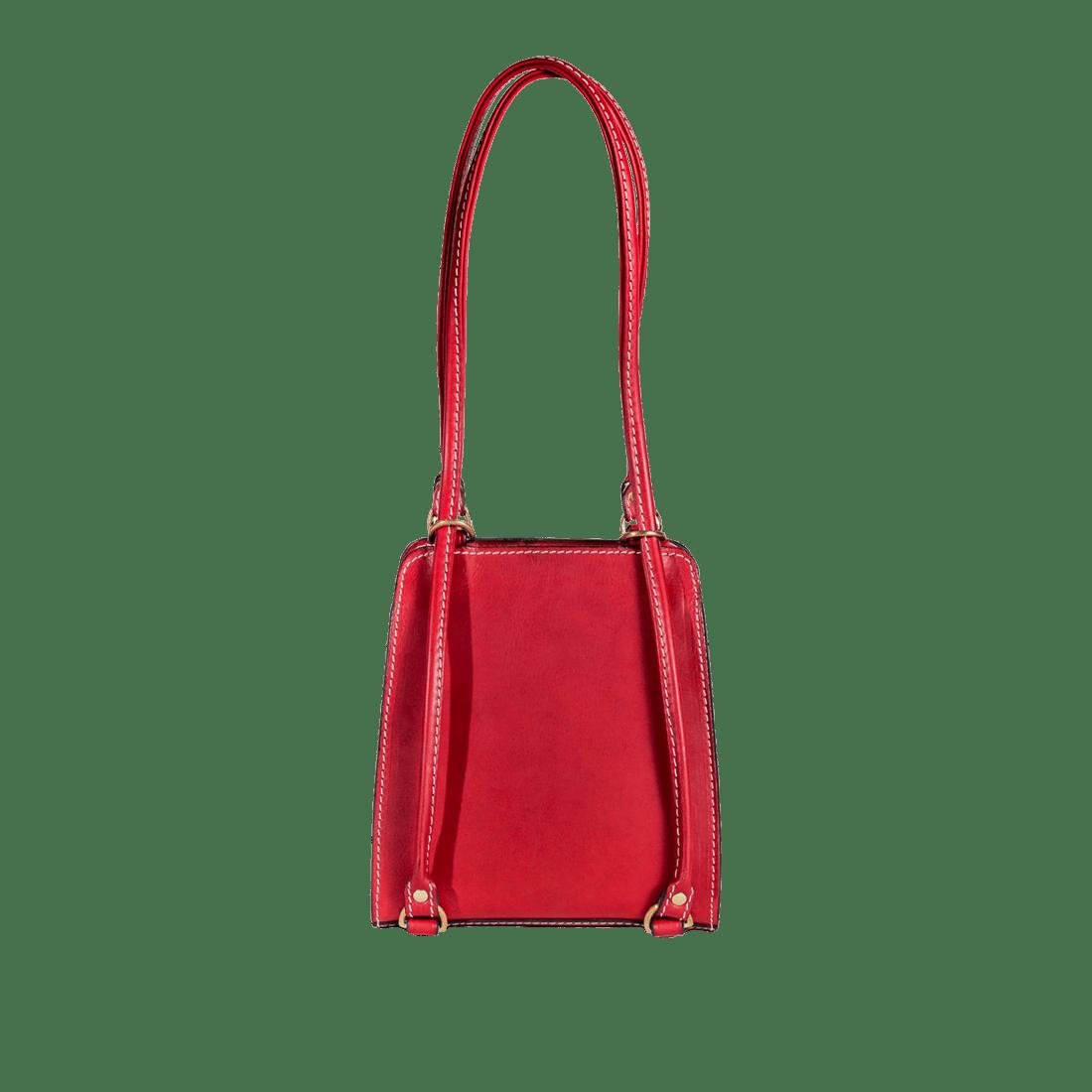 Rucksack matt red