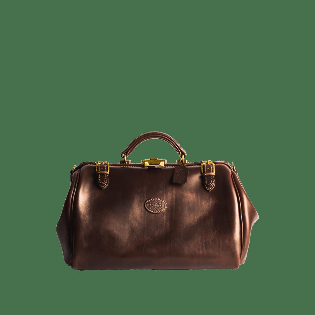 MacKenzie Leather - gladstone bag