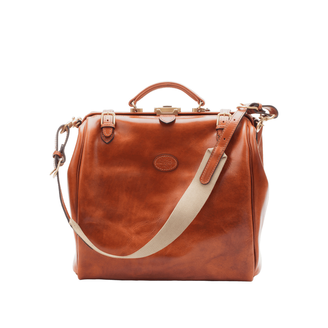The Gladstone leather shiny tan