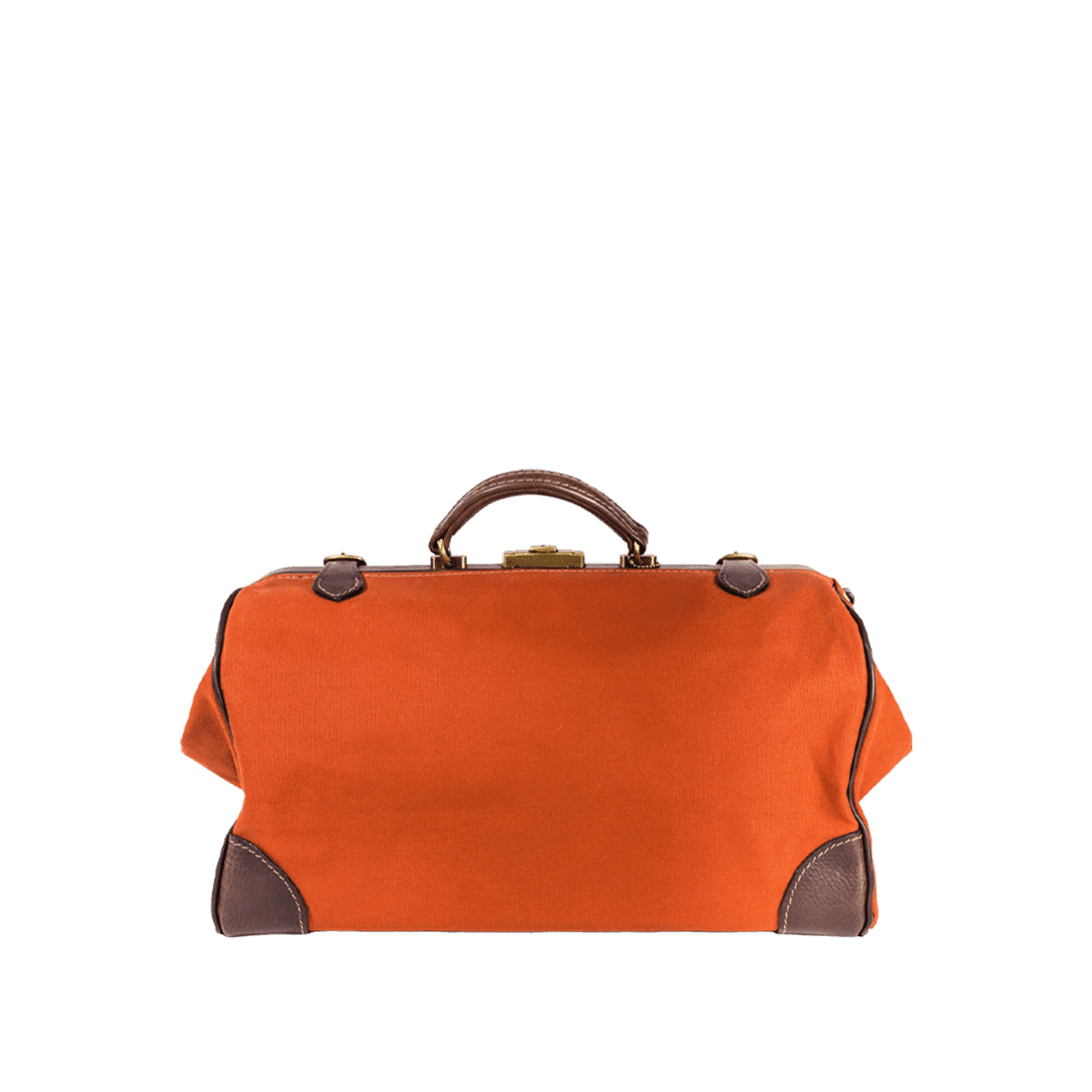 The Gladstone leather & canvas russet