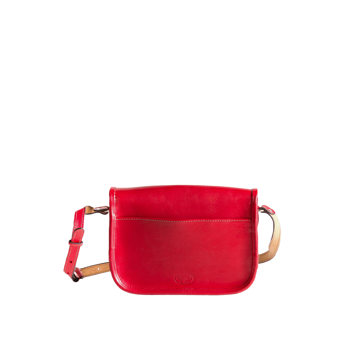The satchel red