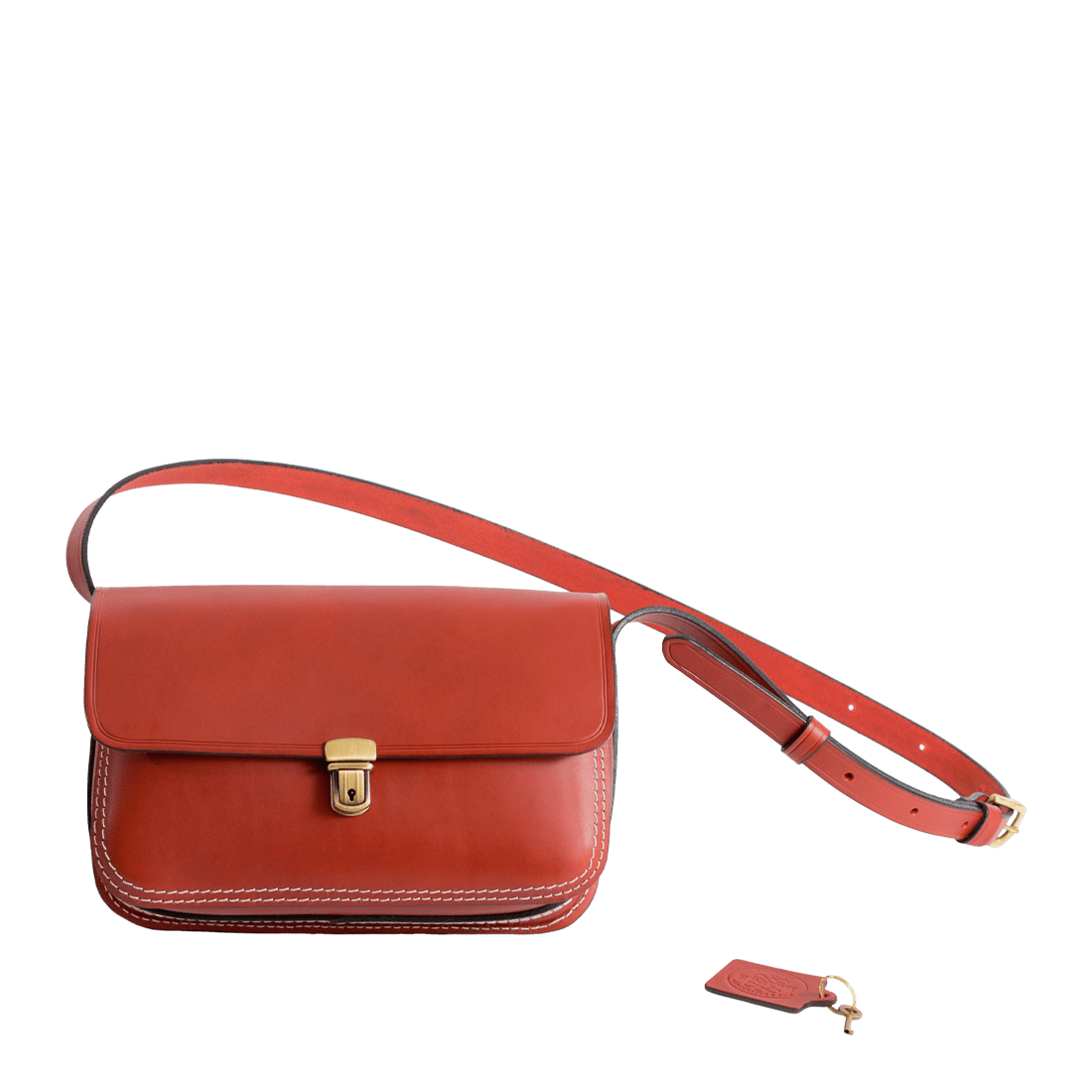 The Town bag matt red