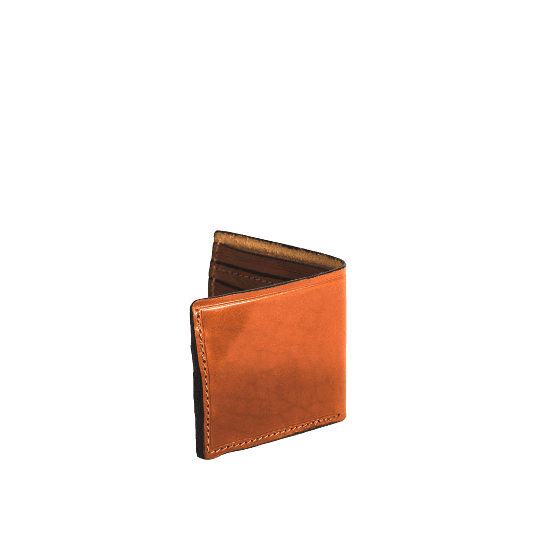 The Wallet shiny tan