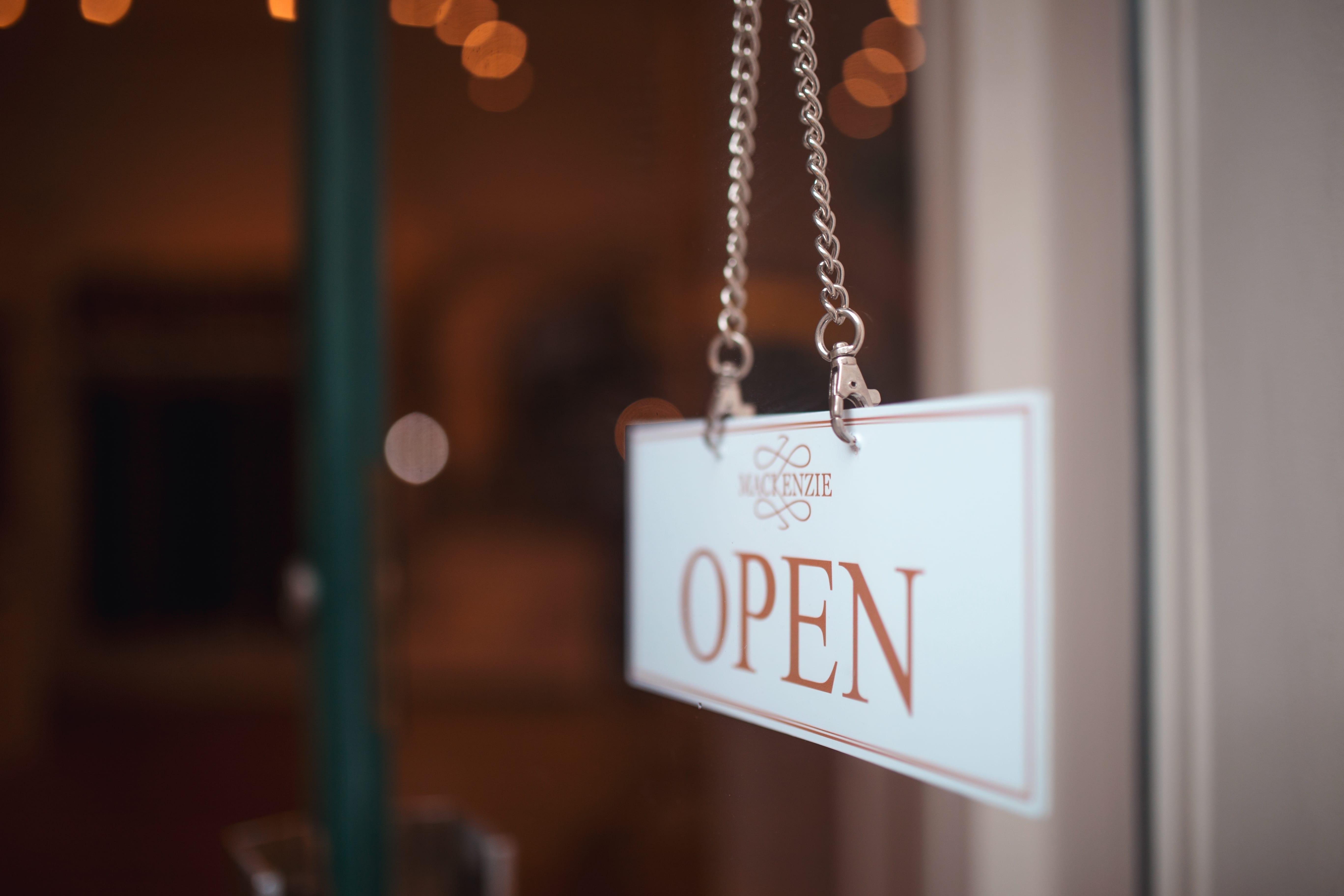 MacKenzie Leather Edinburgh - we are open