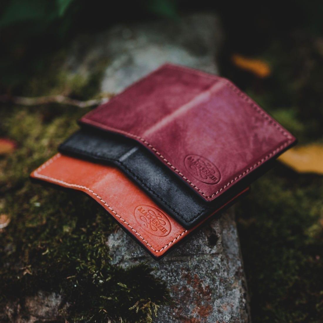 The Double Oak Cardholder colours