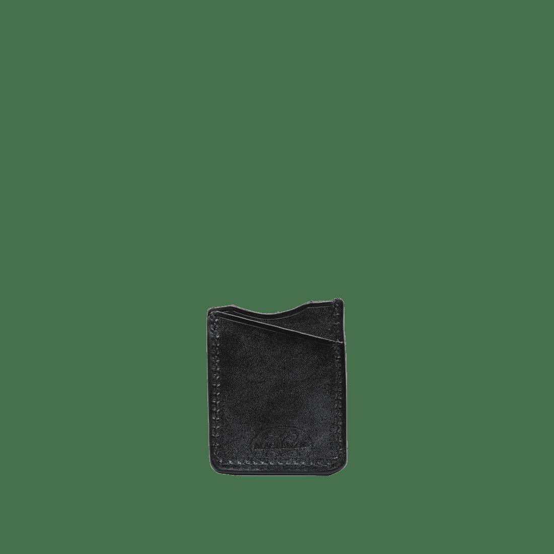 The Oak Card Holder Black