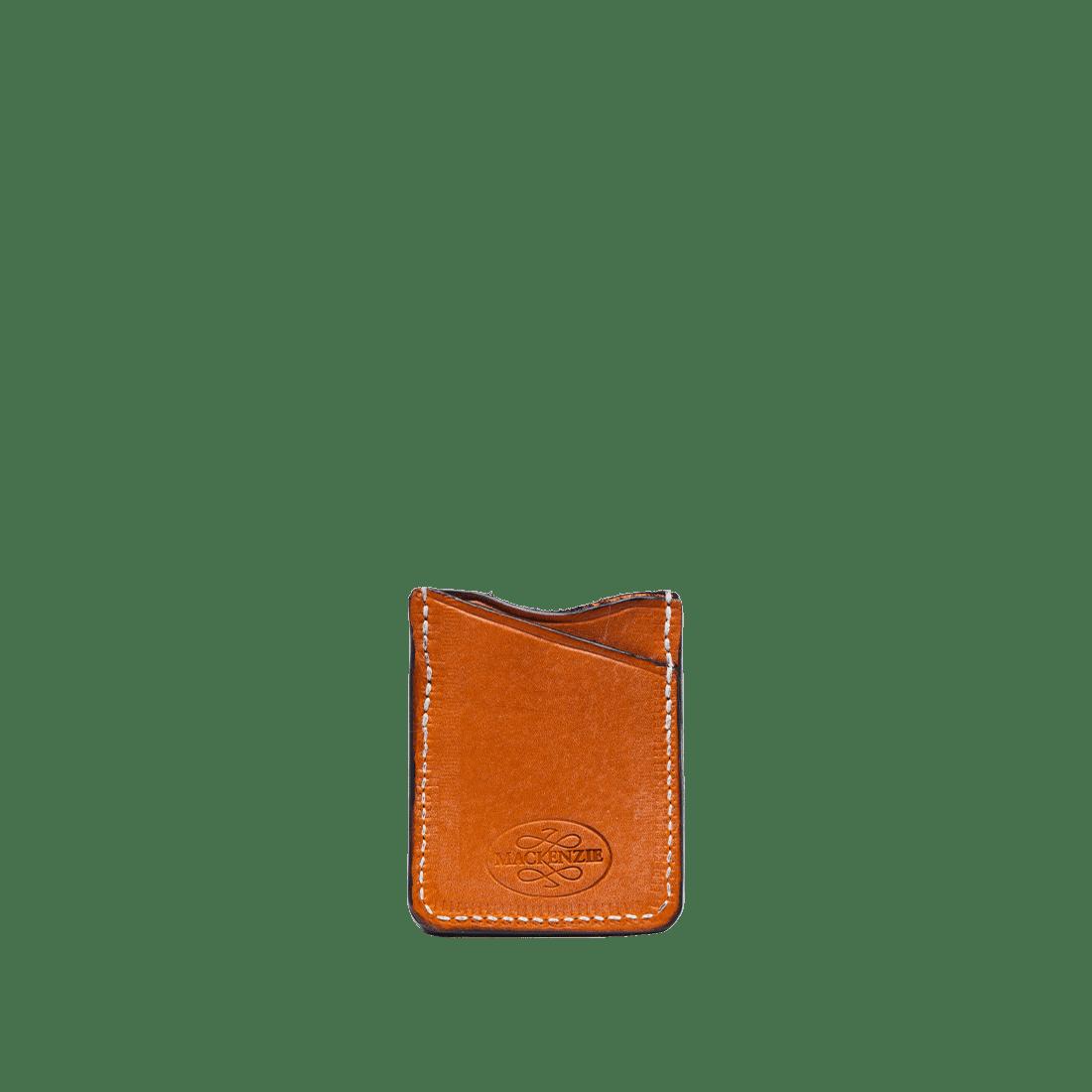 The Oak Card Holder London Tan