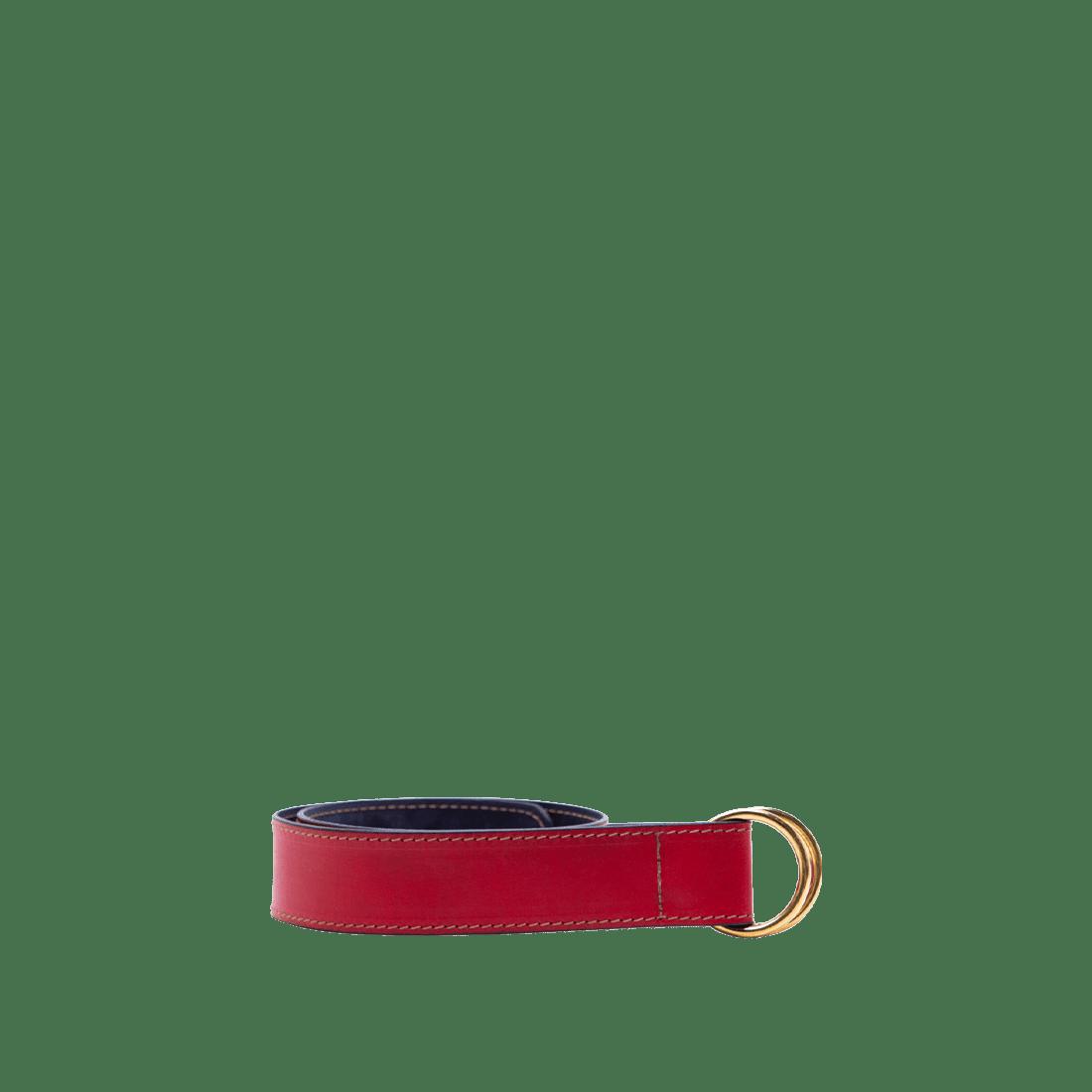 The Loop Belt matt red